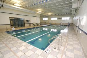 Pinnacle's indoor lap pool