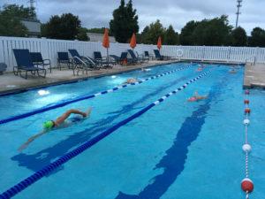 Pinnacle's outdoor lap pool
